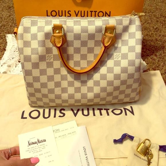 6014fe1f6d6c Louis Vuitton Handbags - LV Speedy 30